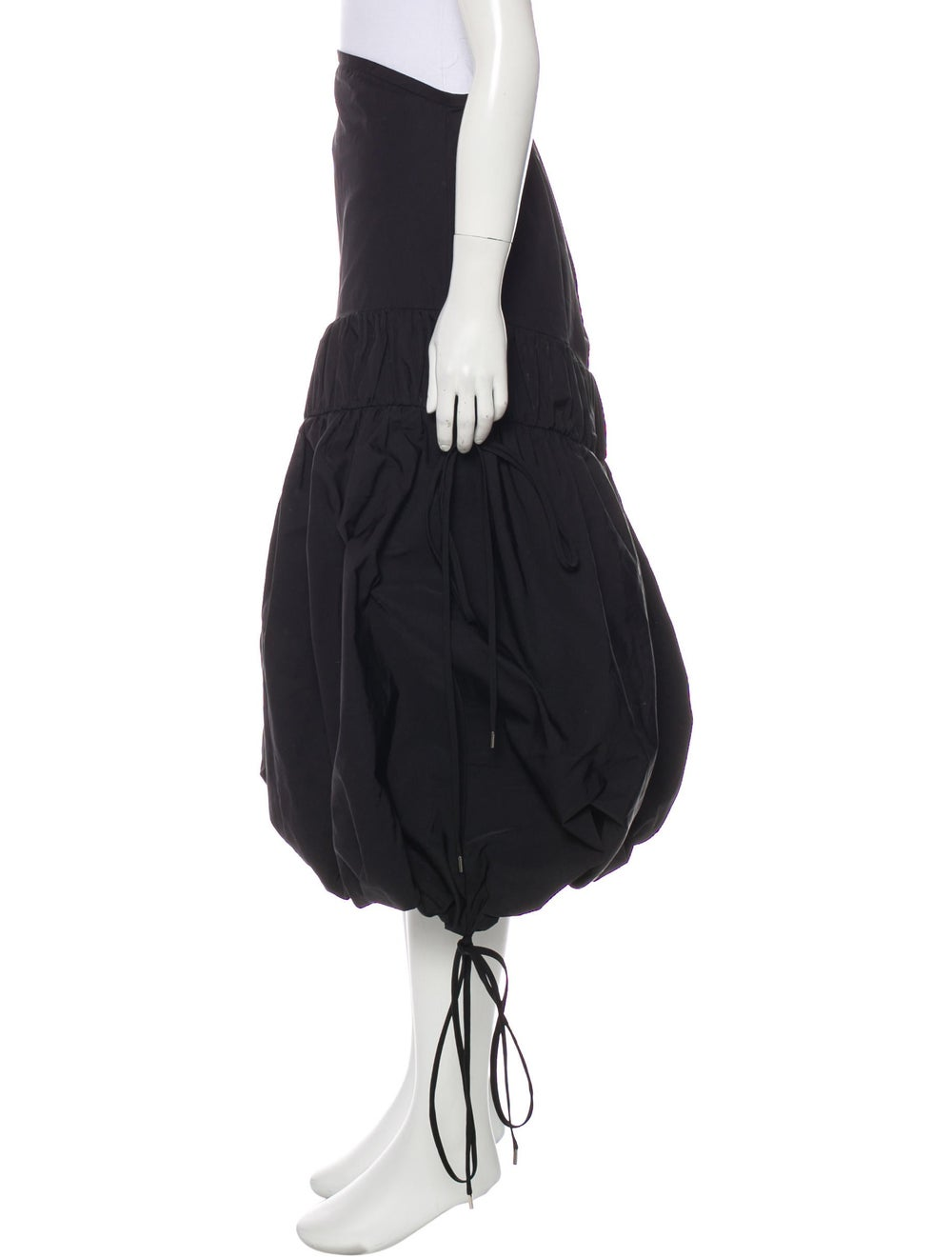 Ellery Midi Length Skirt Black - image 2