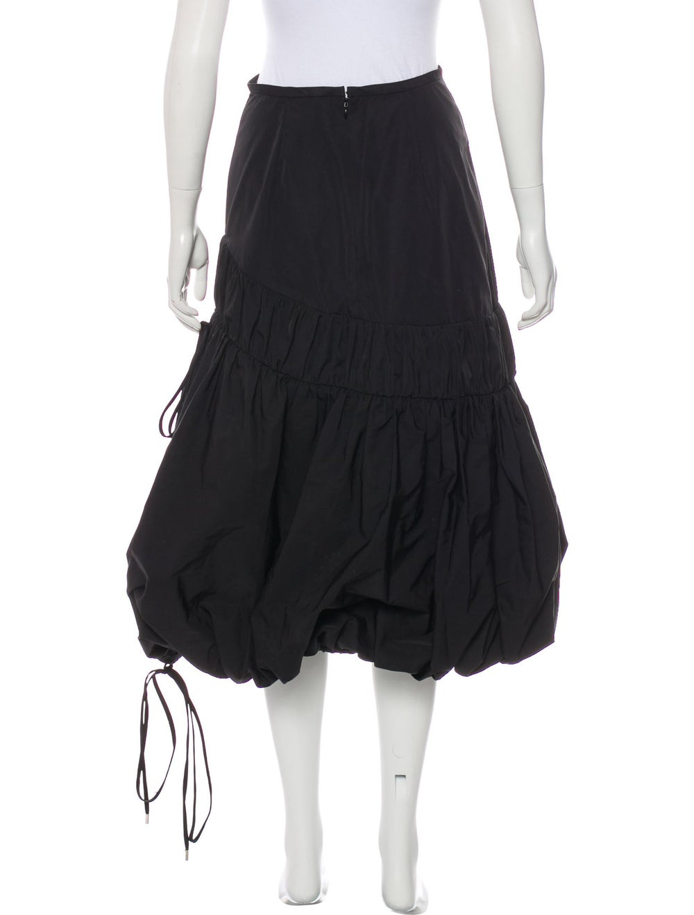 Ellery Midi Length Skirt Black - image 3
