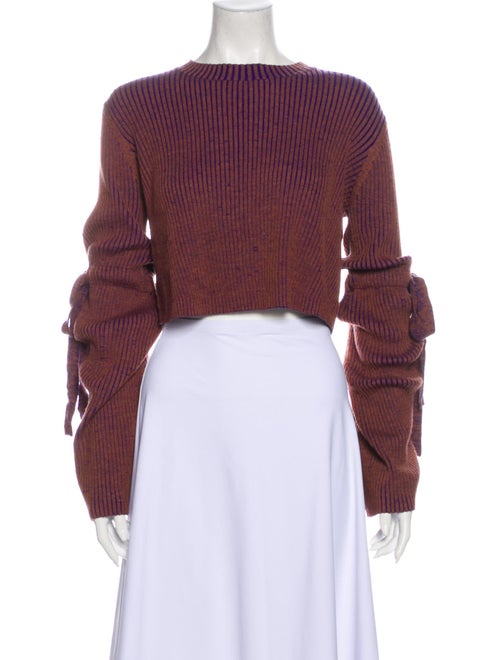 Ellery Merino Wool Crew Neck Sweater Wool