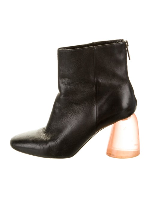Ellery Leather Boots Black
