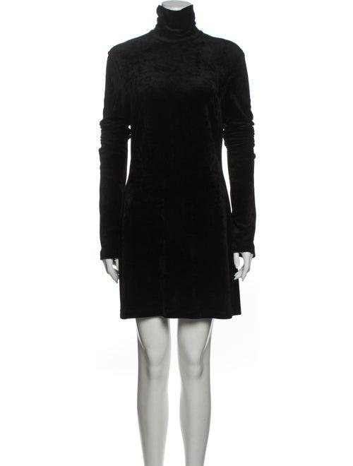 Ellery Turtleneck Mini Dress Black