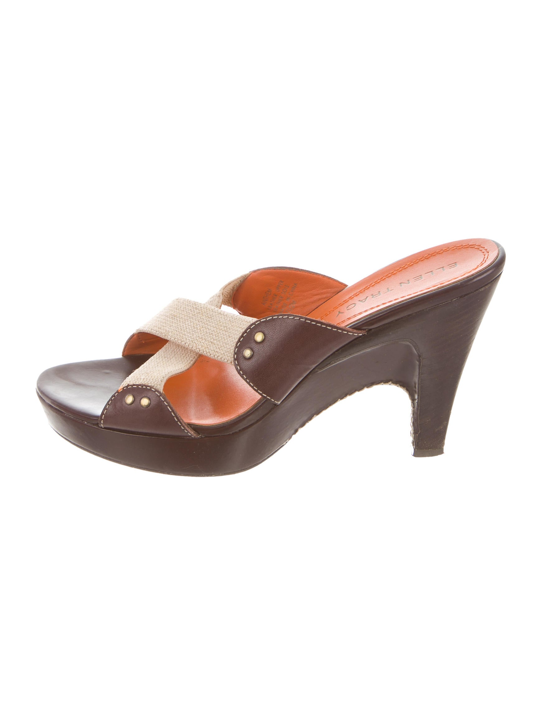 27431b01e3a Ellen tracy leather crossover sandals shoes weltr jpg 1741x2297 Ellen tracy  sandals