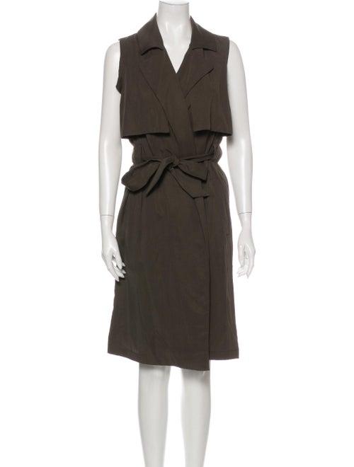 Emerson Fry Midi Length Dress Grey