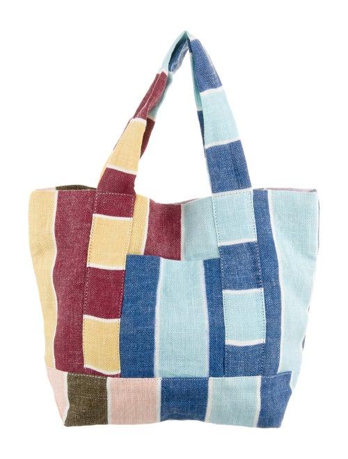 Handmade Reusable Cotton Tote Brown /& Dots Bucket Bag