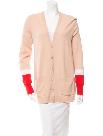 Cashmere Long Sleeve Cardigan