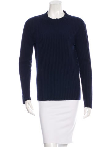 Equipment Rib Knit Long Sleeve Top None