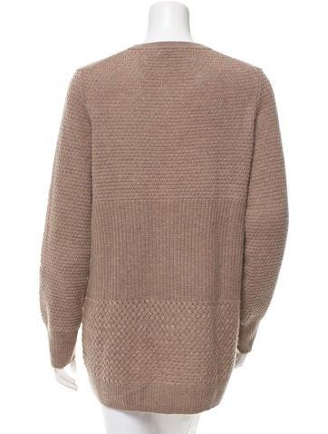 Wool Rib Knit Sweater