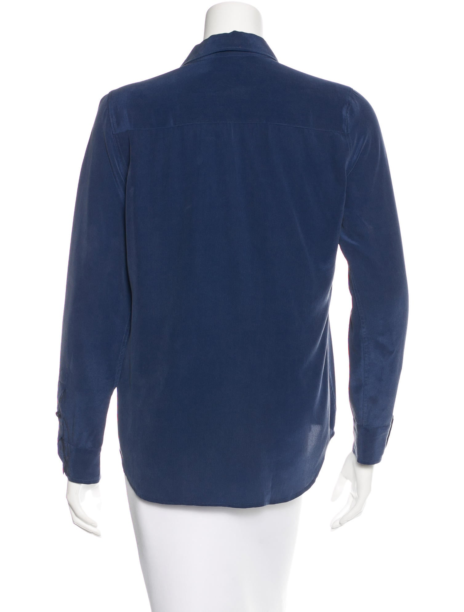 Equipment silk long sleeve shirt clothing weq31350 for Silk long sleeve shirt