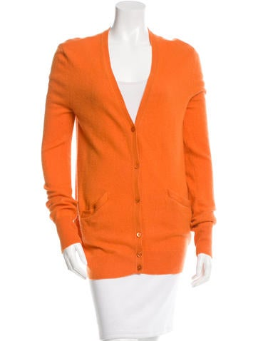 Equipment Long Sleeve Cashmere Cardigan None