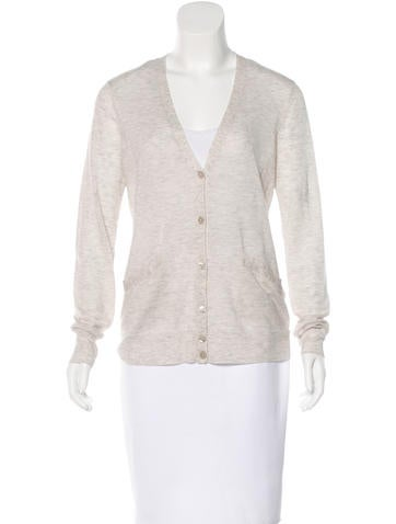 Equipment Wool-Blend Knit Cardigan None