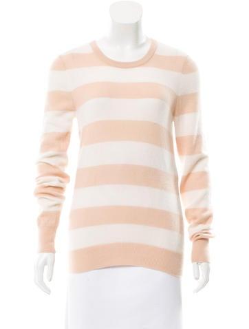 Equipment Striped Cashmere Sweater None