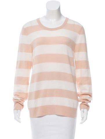 Equipment Striped Cashmere Sweater None
