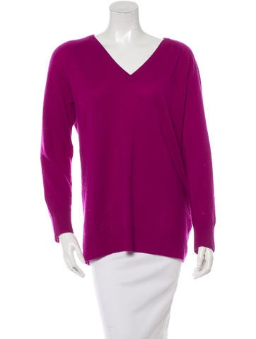 Equipment V-Neck Cashmere Sweater None