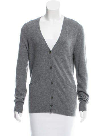 Equipment Cashmere Long Sleeve Cardigan
