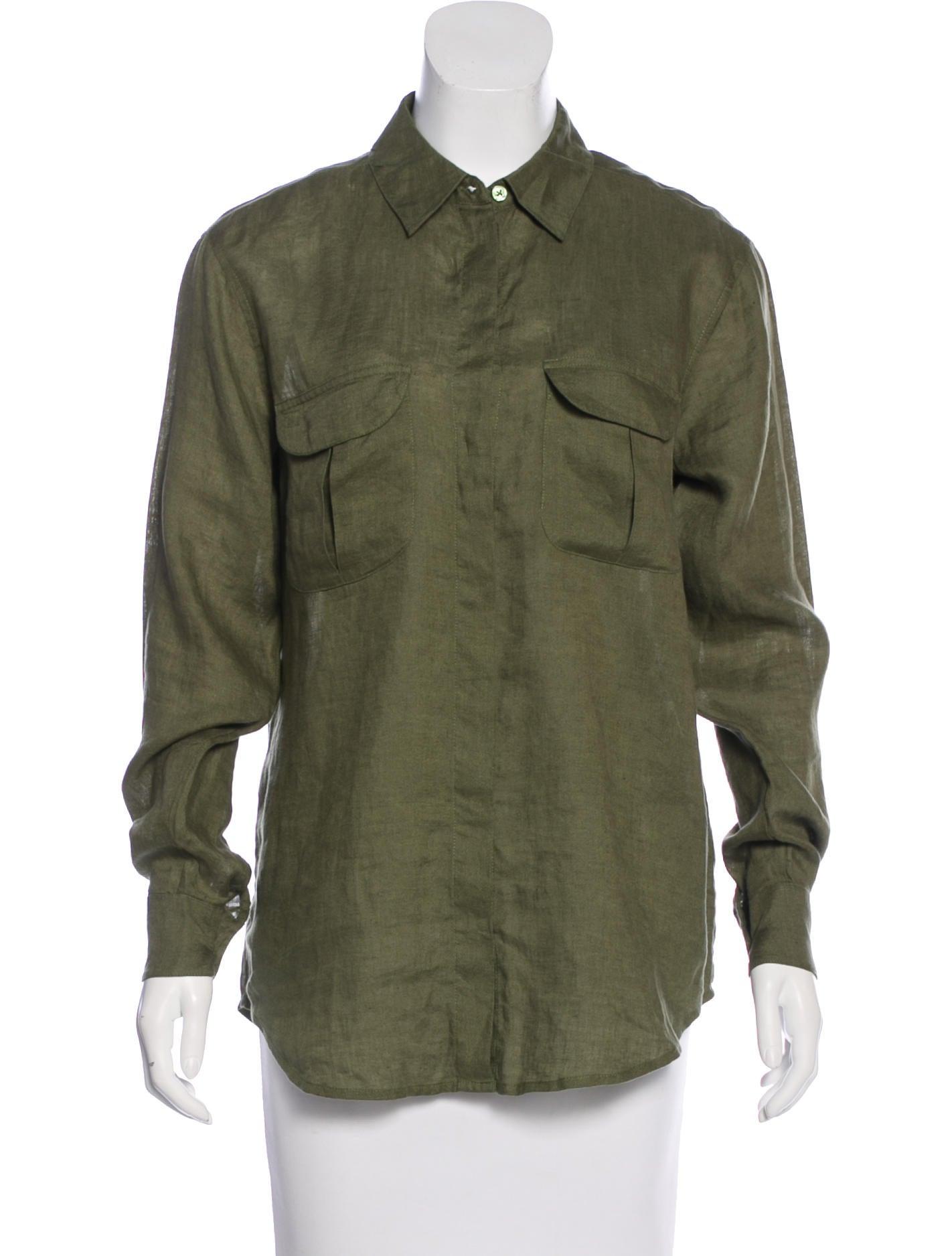 Equipment linen long sleeve shirt clothing weq34353 for Linen long sleeve shirt