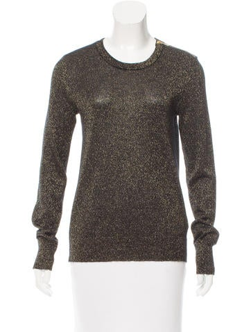 Equipment Ondine Metallic Sweater None