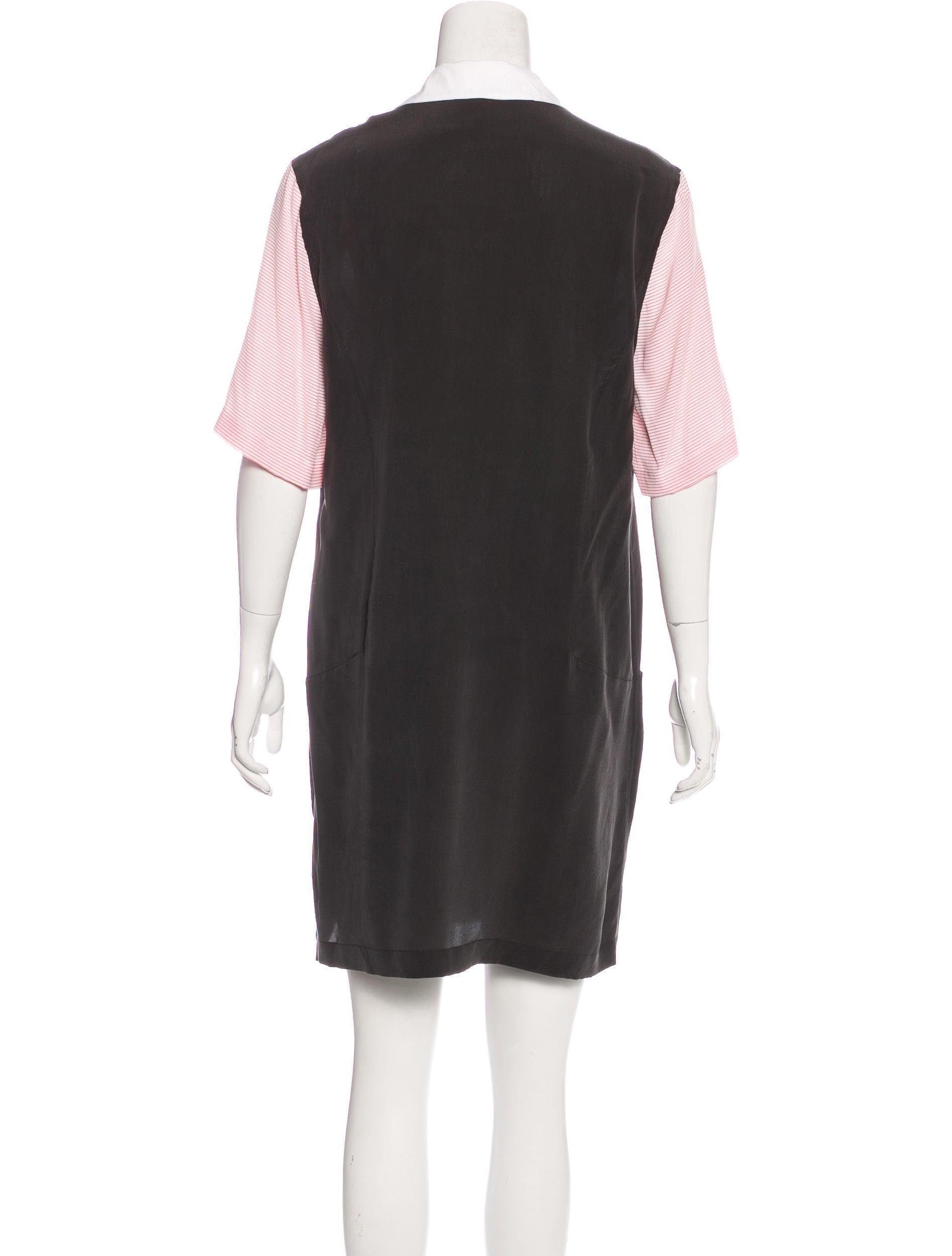 Equipment silk short sleeve shirt dress clothing for Silk short sleeve shirt