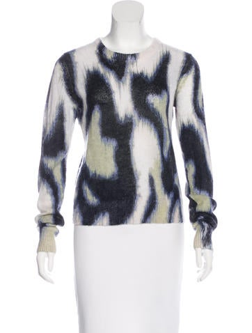 Equipment Mohair & Wool-Blend Sweater w/ Tags None