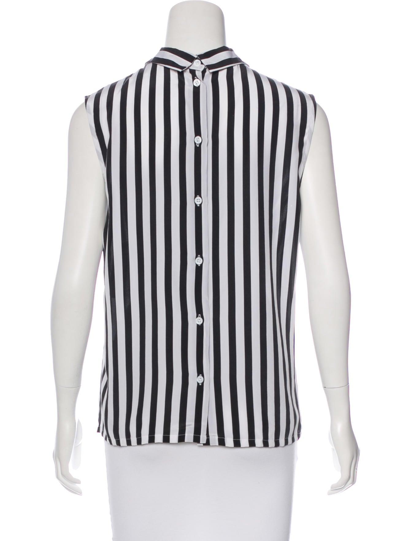 Equipment silk printed blouse w tags clothing for Equipment black silk shirt
