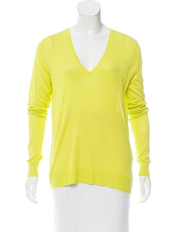 Equipment Silk Knit Top w/ Tags None
