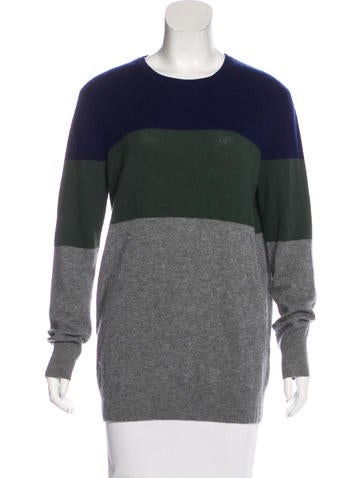 Equipment Cashmere Striped Sweater None