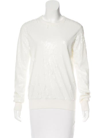Equipment Sequin Knit Sweater w/ Tags None