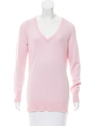 Equipment Cashmere V-Neck Sweater None