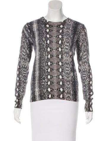 Equipment Printed Cashmere Sweater None