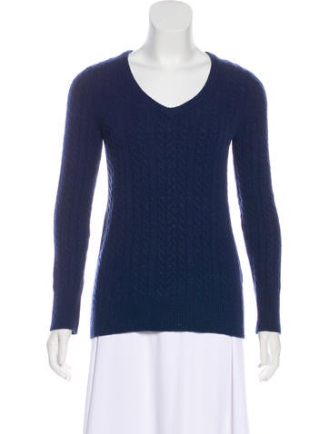 Equipment Long Sleeve Cashmere Sweater None