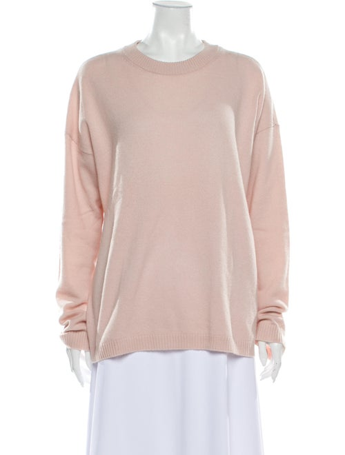 Equipment Cashmere Crew Neck Sweatshirt Pink