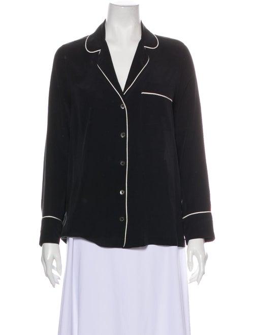 Equipment Silk Pajamas Black