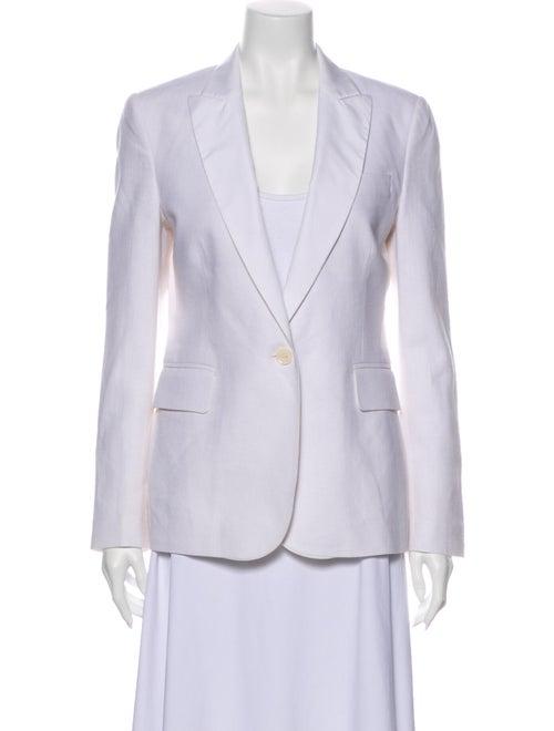 Equipment Linen Blazer White