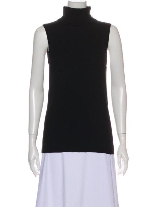 Equipment Silk Turtleneck Sweater Black - image 1