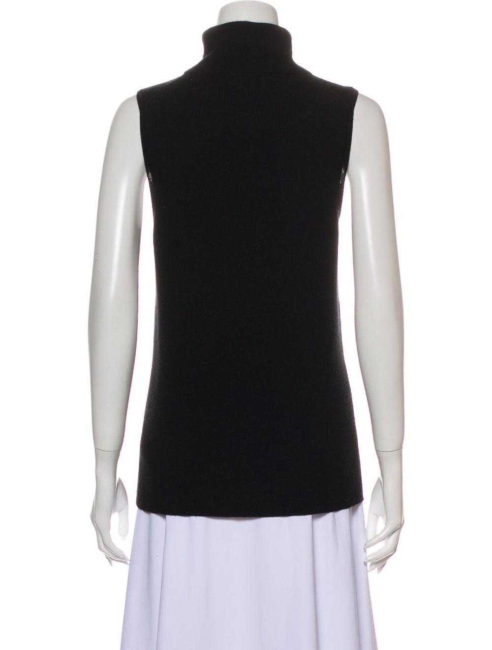 Equipment Silk Turtleneck Sweater Black - image 3