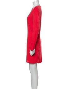 Equipment V-Neck Mini Dress