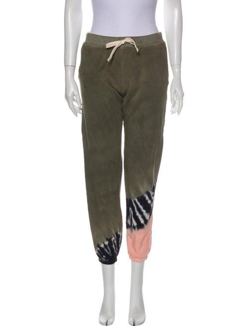 Electric & Rose Tie-Dye Print Sweatpants Rose