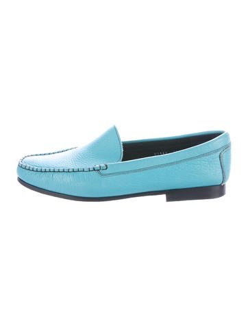 escada sport leather toe loafers shoes wes20089