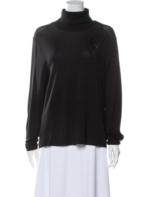 Escada Sport Turtleneck Sweater Black