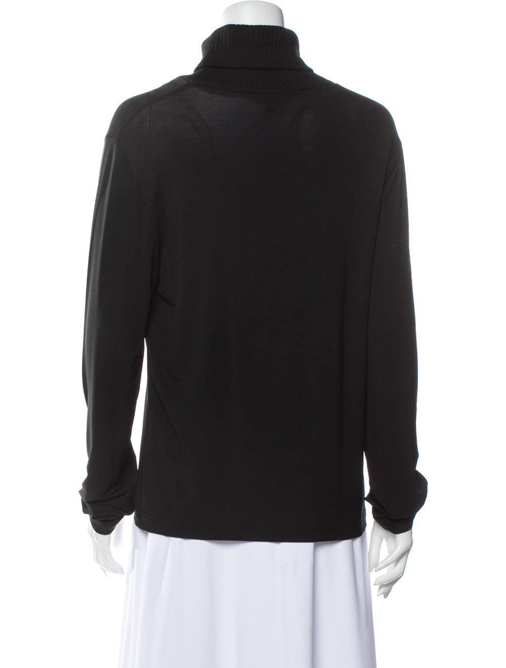 Escada Sport Turtleneck Sweater Black - image 3