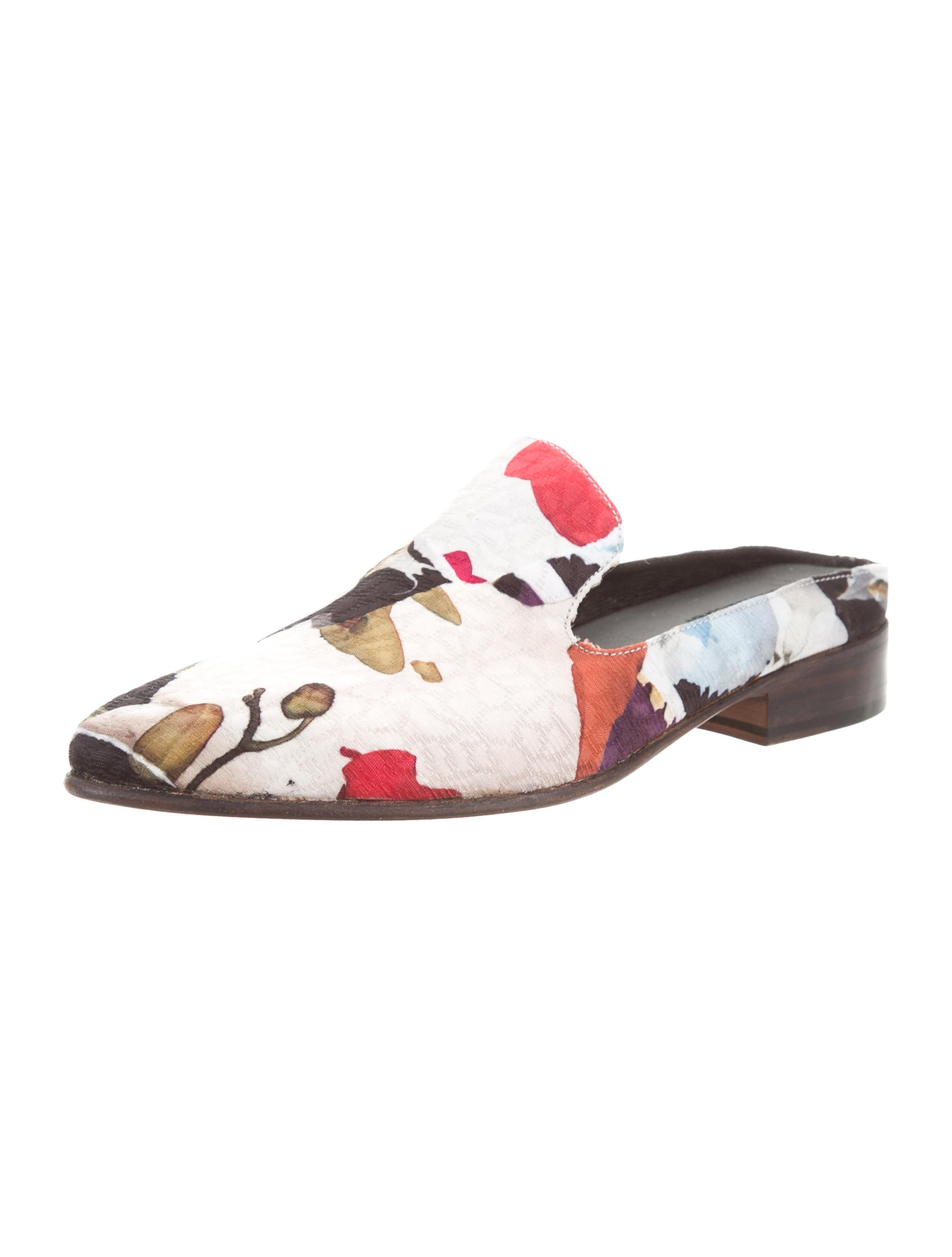 buy cheap from china Esquivel x Jonathan Cohen Woven Floral Mules w/ Tags shopping online for sale buy cheap best wholesale release dates for sale cheap new styles p6wa72YpT