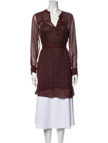 Étoile Isabel Marant Silk Printed Tunic