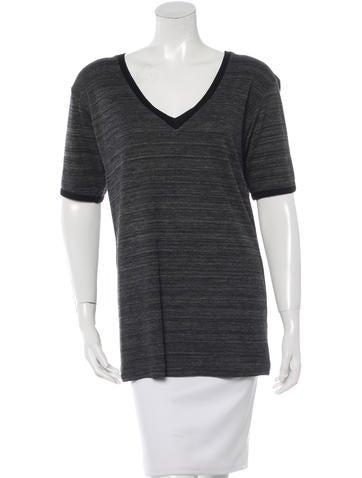 Étoile Isabel Marant Short Sleeve V-Neck Top