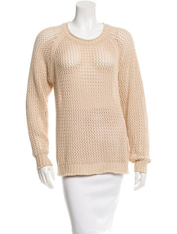 Étoile Isabel Marant Knit Long Sleeve Top None