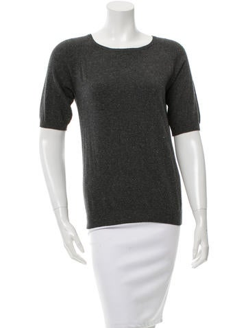 Étoile Isabel Marant Rib Knit Crew Neck Top None