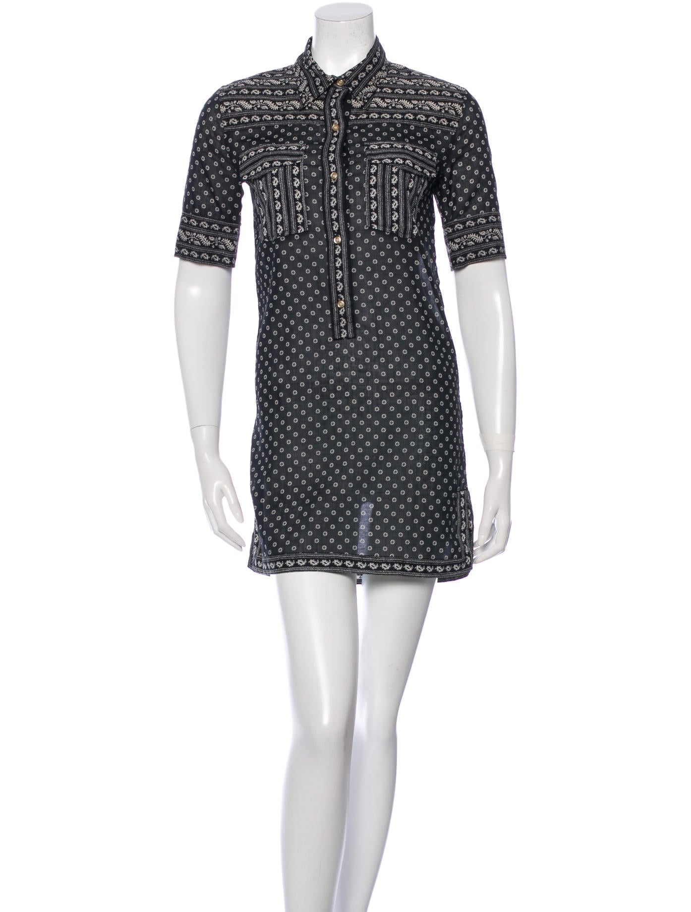 Toile Isabel Marant Lexine Bordeaux Shirt Dress