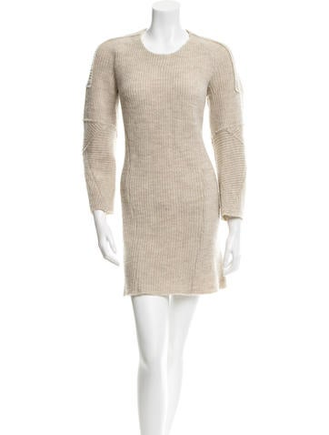 Étoile Isabel Marant Wool Rib Knit Dress None