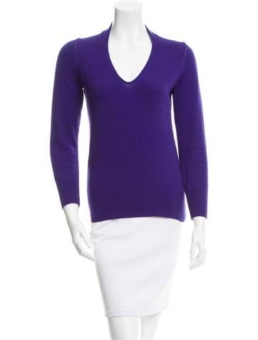Étoile Isabel Marant V-Neck Rib Knit Sweater None
