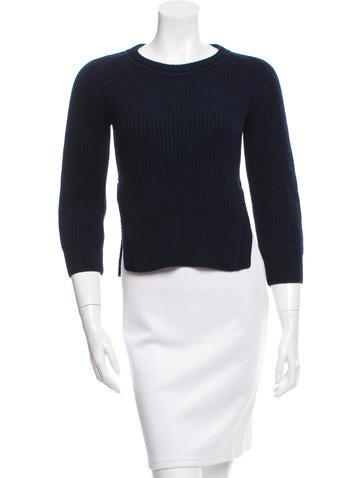 Étoile Isabel Marant Wool Rib Knit Sweater None
