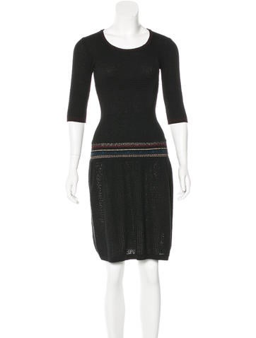 Étoile Isabel Marant Knit Midi Dress None