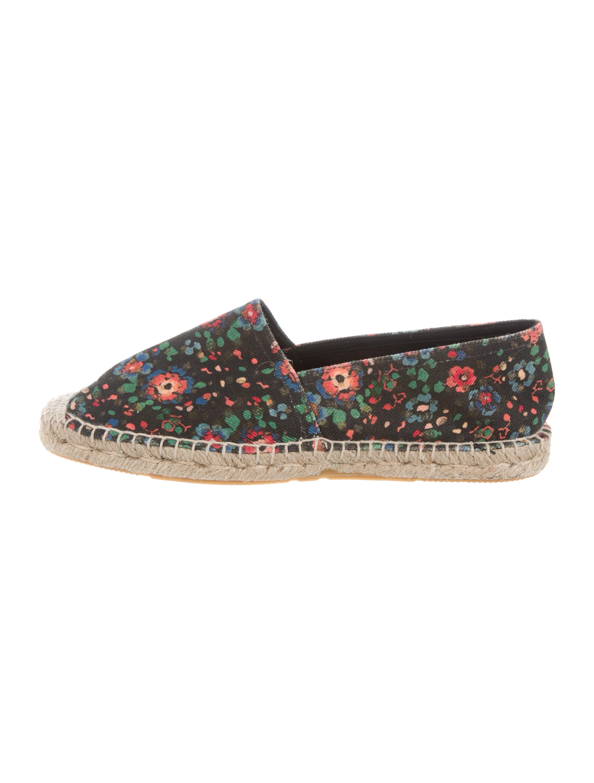 discount codes shopping online cheap sale fashionable Étoile Isabel Marant Floral Print Round-Toe Espadrilles clearance find great free shipping new styles outlet locations 1OWDclA